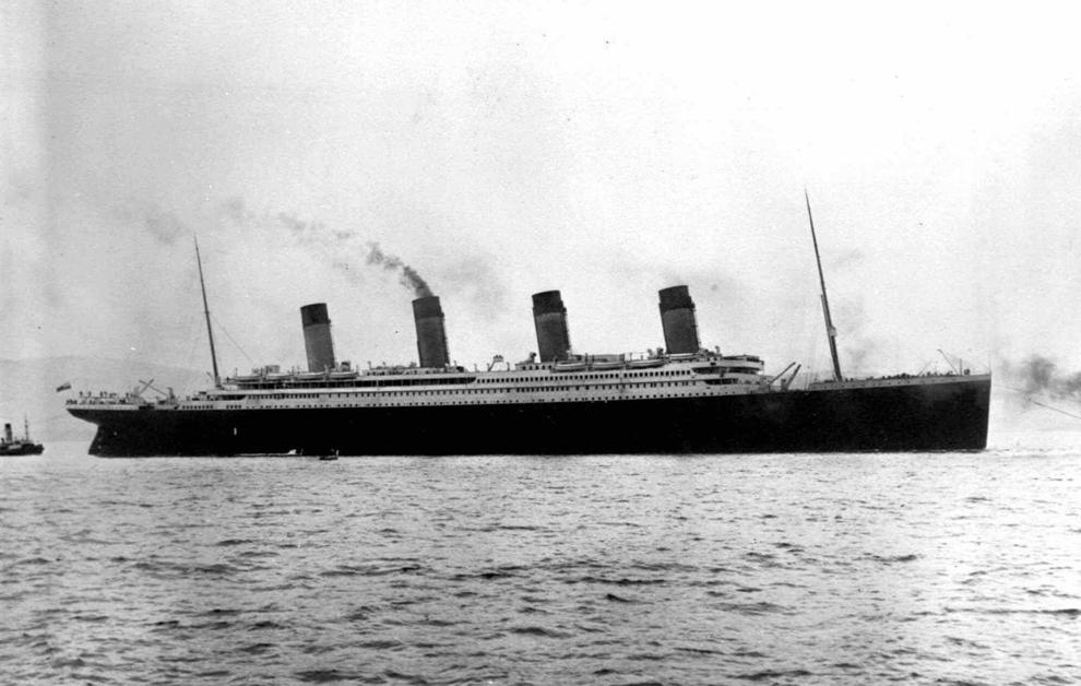 bp1 100 летие гибели Титаника