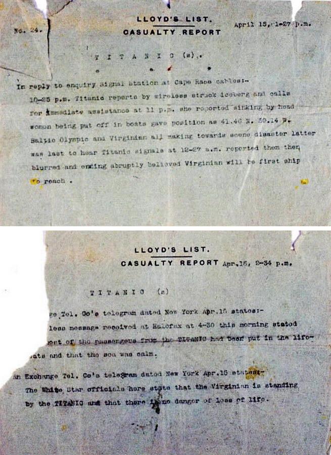 bp19 100 летие гибели Титаника