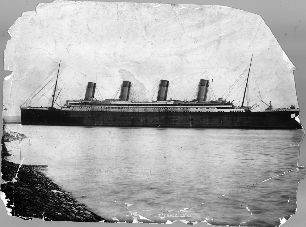 bp21 100 летие гибели Титаника