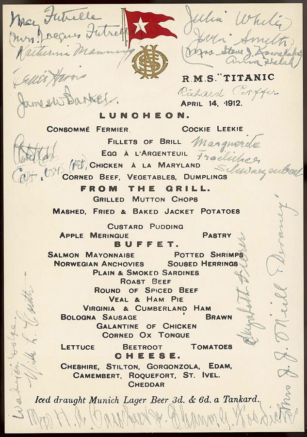 bp24 100 летие гибели Титаника