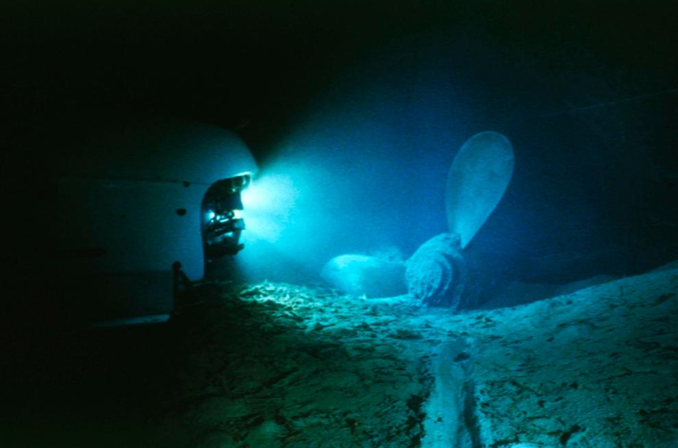 bp26 100 летие гибели Титаника