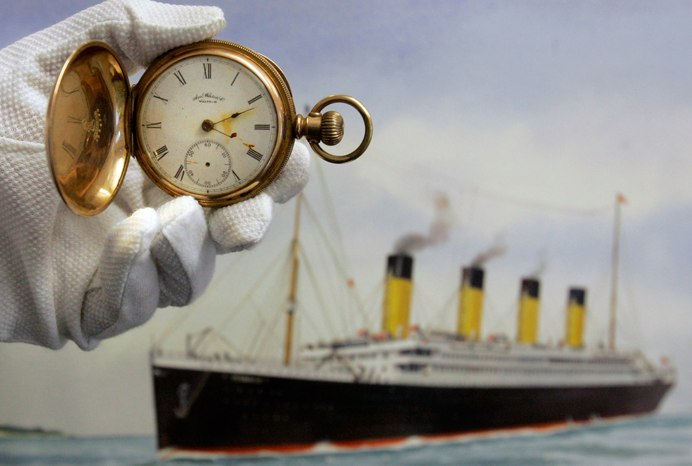 bp33 100 летие гибели Титаника