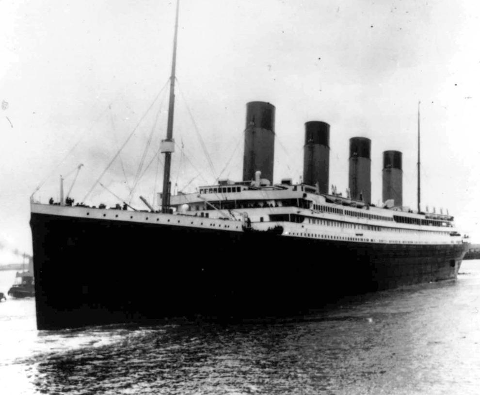 bp6 100 летие гибели Титаника