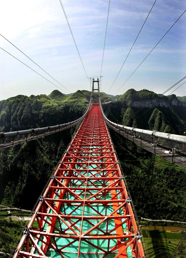 rexusa 1026553b jpg 183749 Китайцы построили самый длинный в мире мост через пропасть
