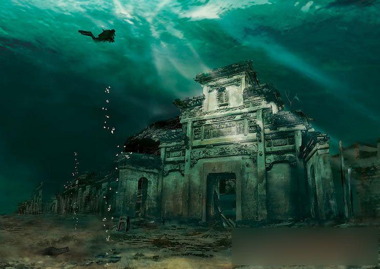 000cf1a48786110438080f Цяньдаоху   Озеро тысячи островов