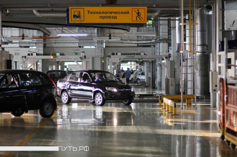 Роботизированный конвейер сборки автомобилей отзывы о транспортере 5