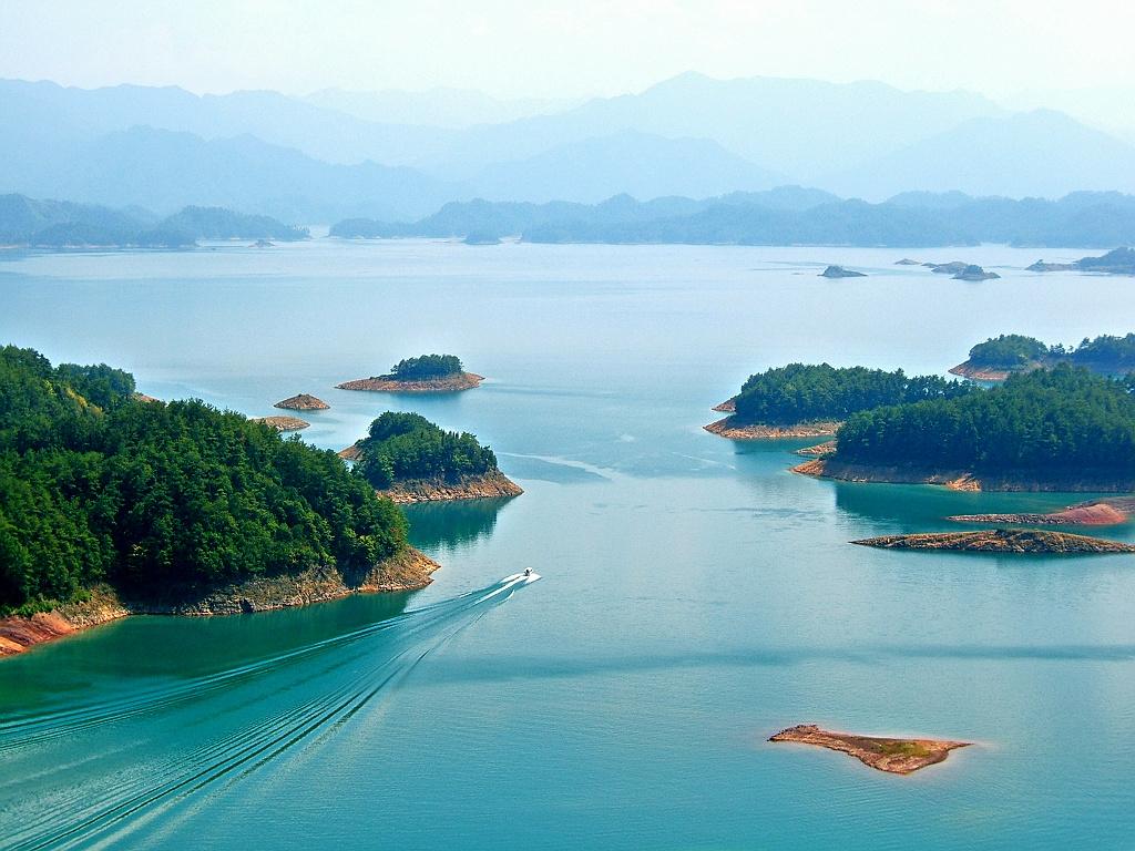 0 8678f Tsyandaohu Thousand Islands Lake
