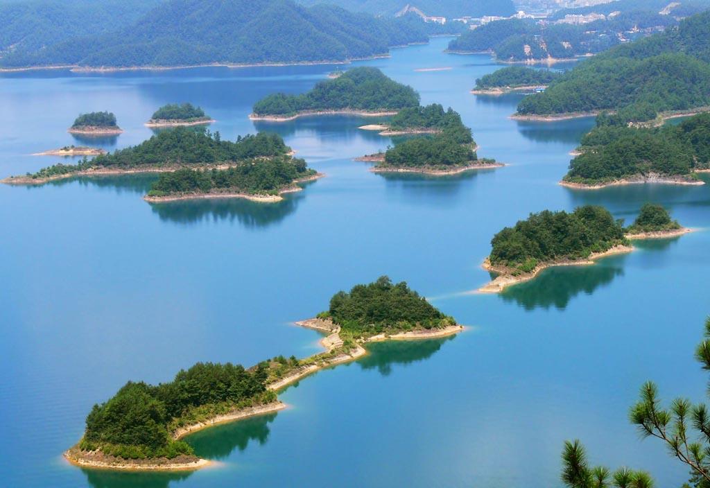 0 86.791 Tsyandaohu hồ ngàn hòn đảo