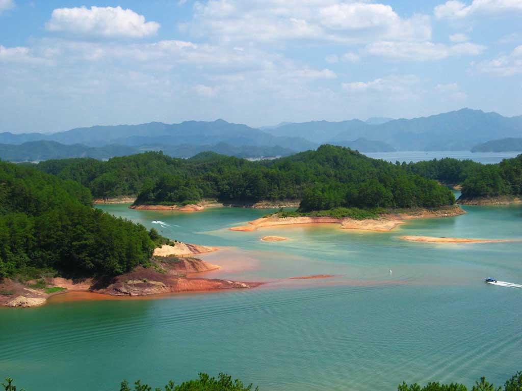 0 86792  Цяньдаоху   Озеро тысячи островов