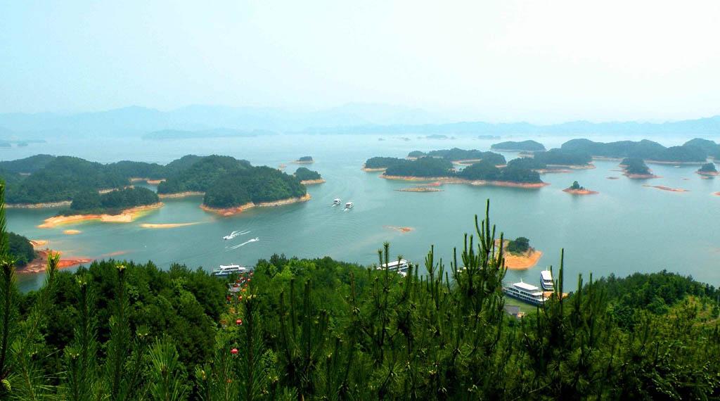 0 86793  Цяньдаоху   Озеро тысячи островов
