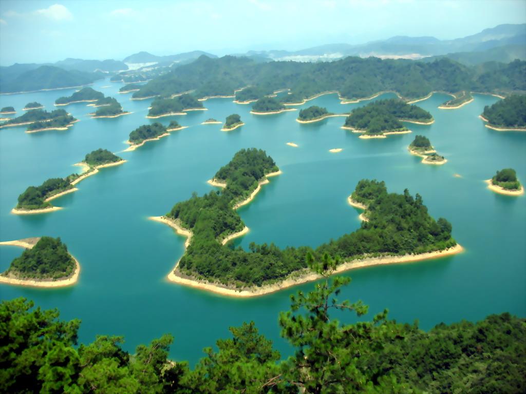 0 86794  Цяньдаоху   Озеро тысячи островов