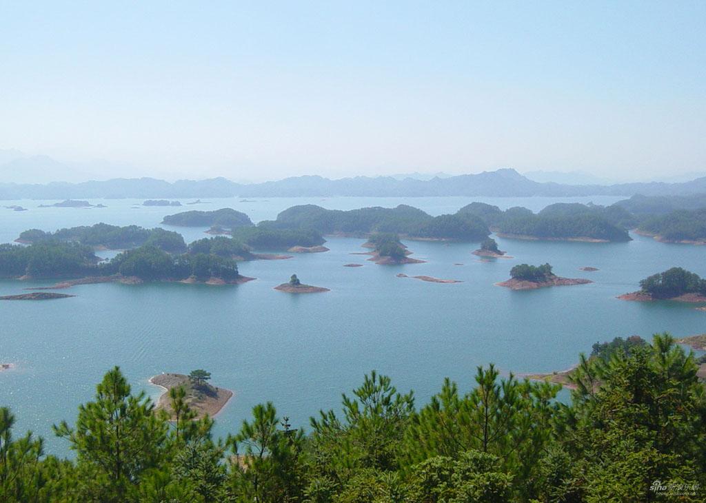 0 86795  Цяньдаоху   Озеро тысячи островов
