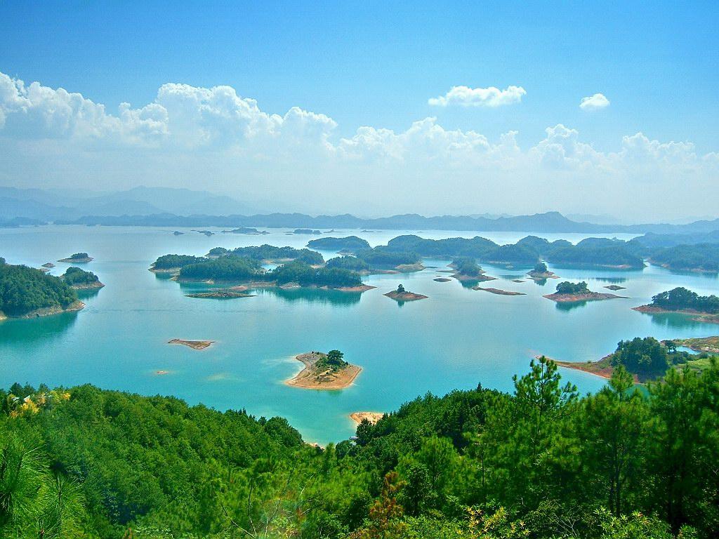 0 86.796 Tsyandaohu hồ ngàn hòn đảo