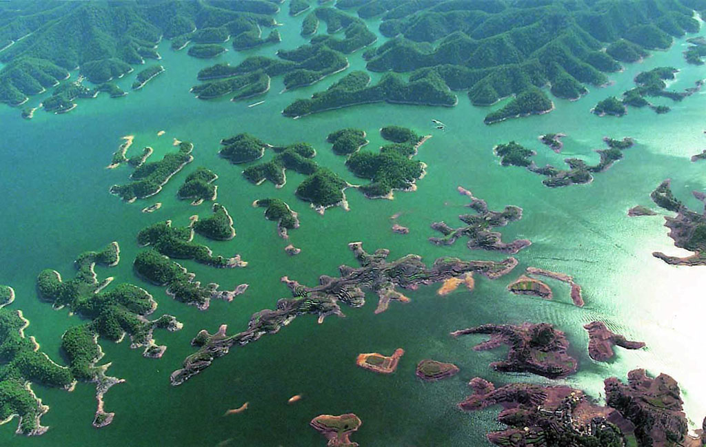 0 86.798 Tsyandaohu hồ ngàn hòn đảo