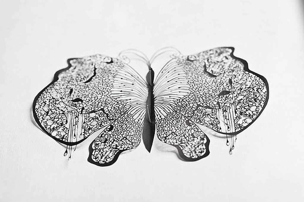 1 101 Бумажные кружева Хины Аоямы