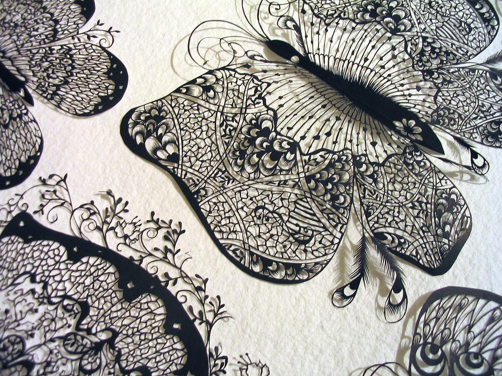 1 131 Бумажные кружева Хины Аоямы