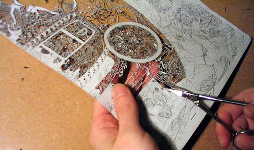 1 161 Бумажные кружева Хины Аоямы