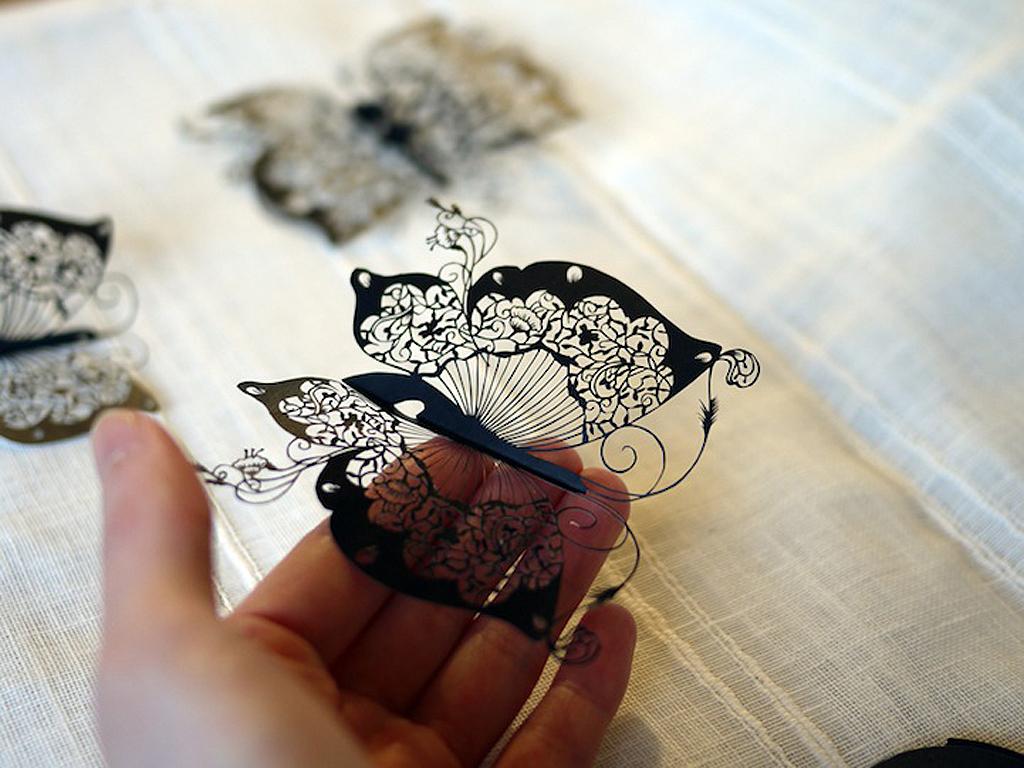 1 210 Бумажные кружева Хины Аоямы