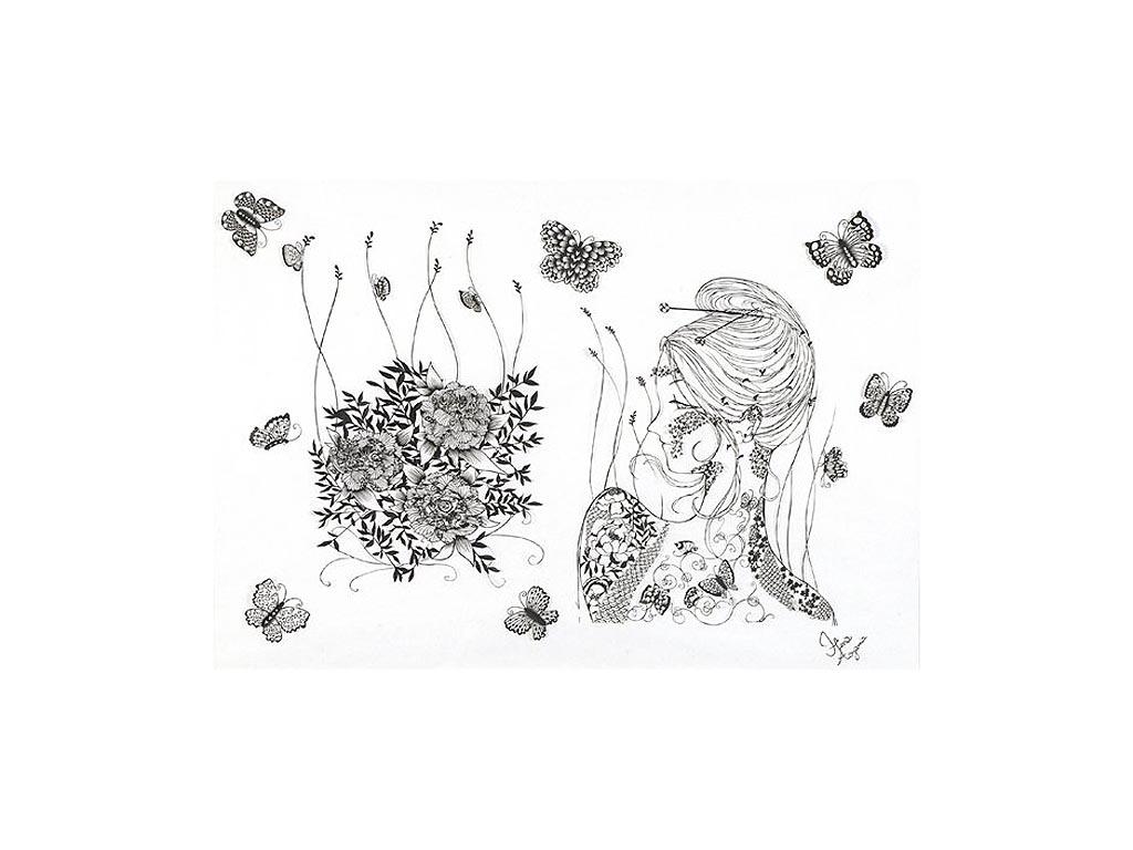 1 231 Бумажные кружева Хины Аоямы