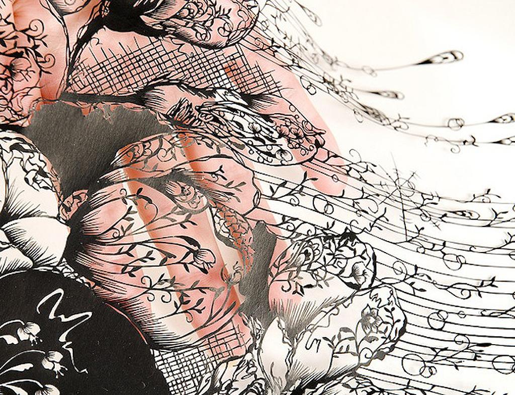 1 91 Бумажные кружева Хины Аоямы