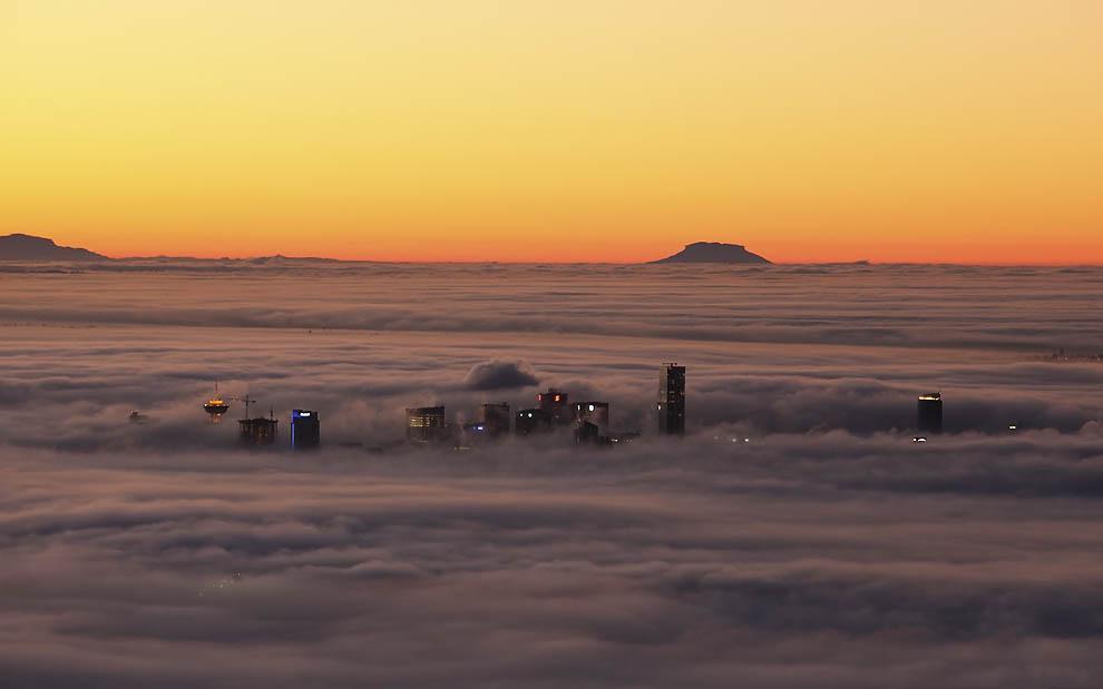 10136 Города окутанные туманом