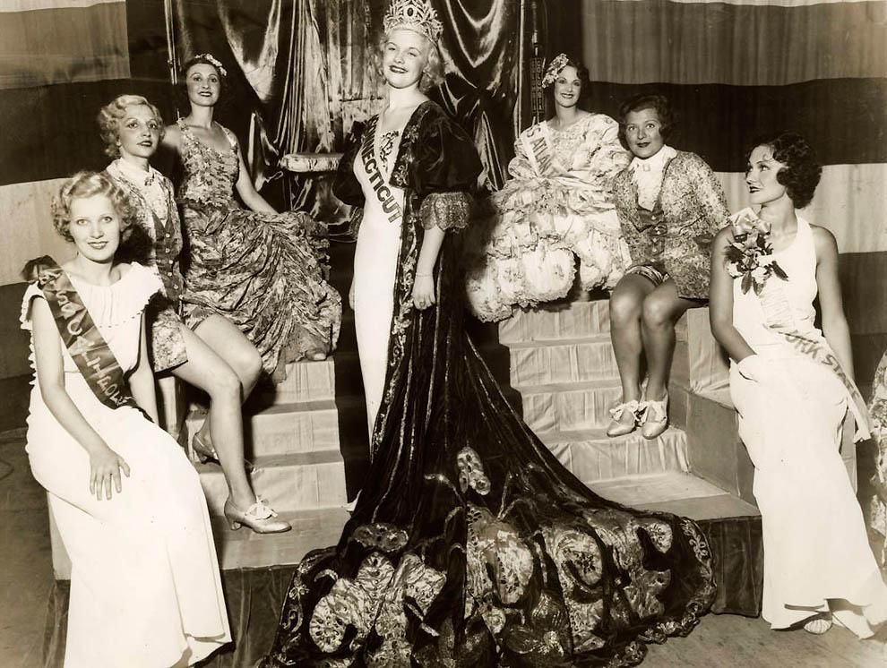 10155 Конкурсы красоты в Америке между двумя войнами   1924 1939 годы