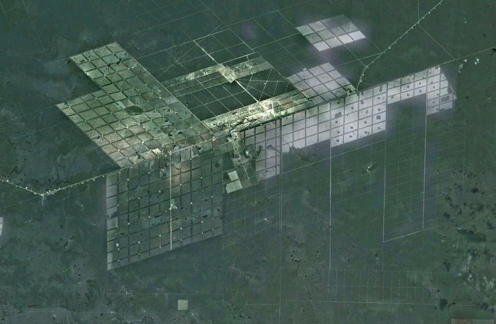 10157 Интересные объекты «Google Планета Земля»