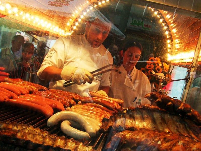10163 Популярная уличная еда в разных странах