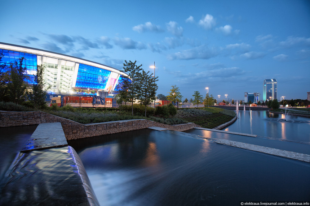 10181 Донецкий стадион Донбасс арена