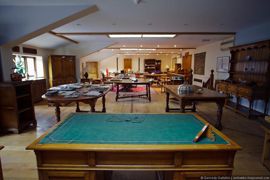 104 Как создают элитную английскую мебель (Часть 3)