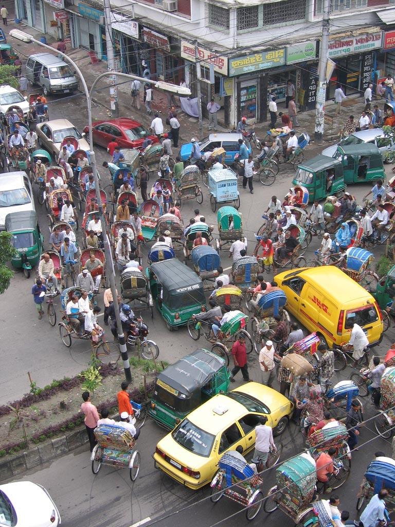 1046 Дакка: хроники социальной помойки или как пережить 5 дней в ужасном мегаполисе