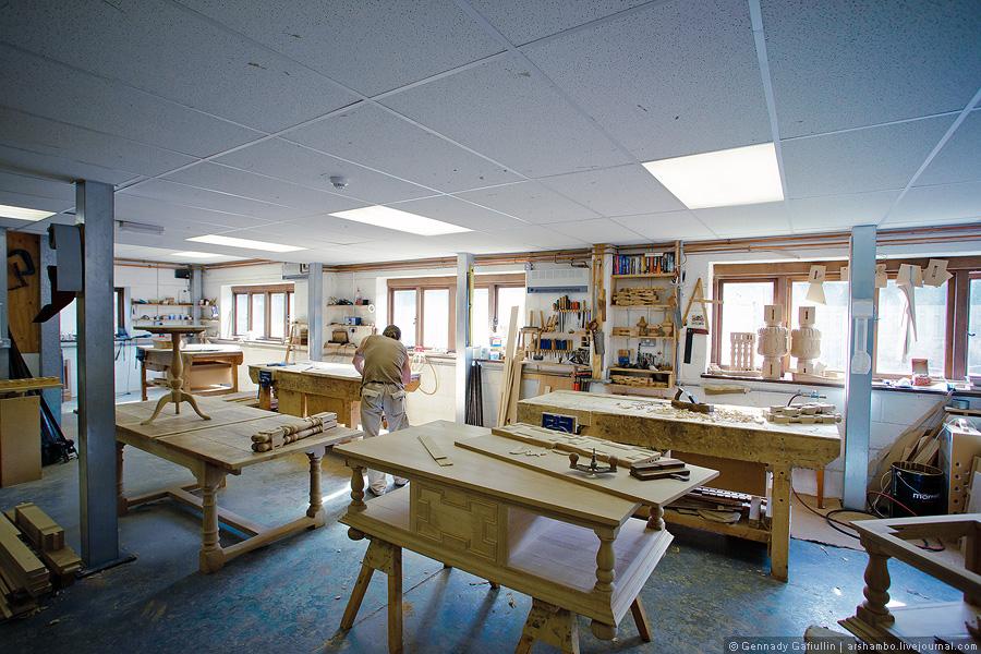 110 Как создают элитную английскую мебель (Часть 2)