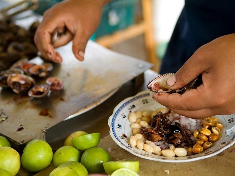 11196 Популярная уличная еда в разных странах