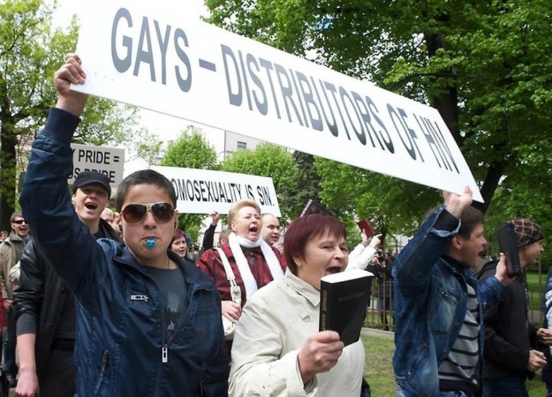 11208 Лица гомофобии разных стран мира