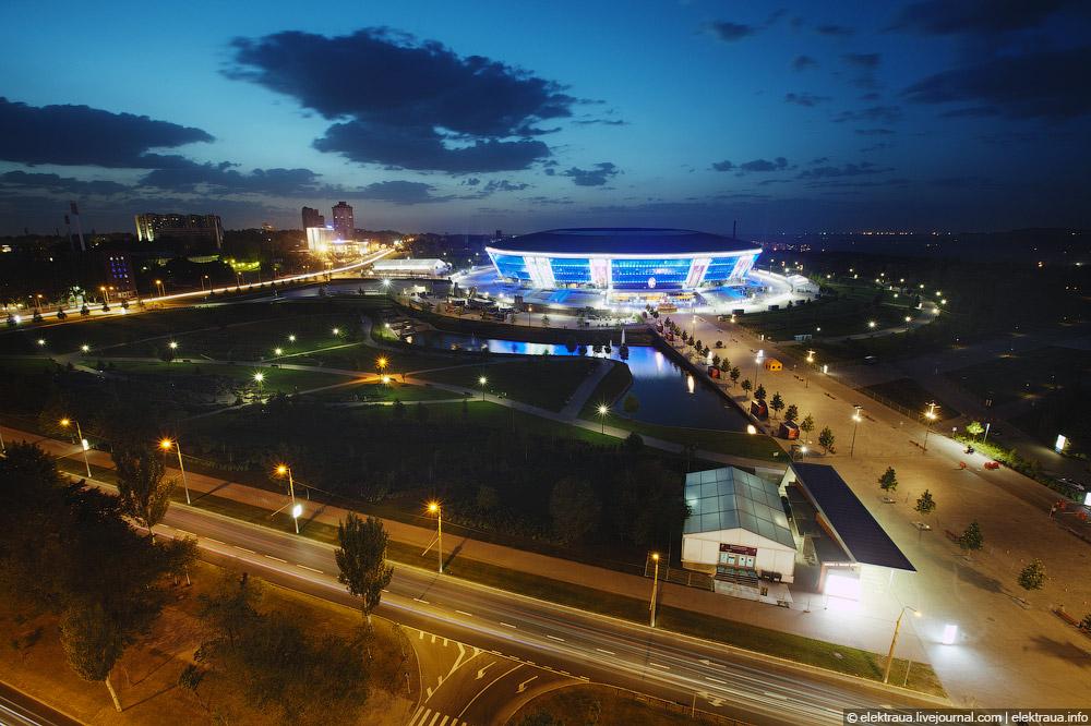 11213 Донецкий стадион Донбасс арена