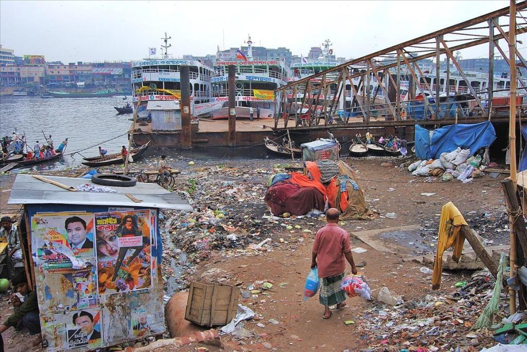 1165 Дакка: хроники социальной помойки или как пережить 5 дней в ужасном мегаполисе