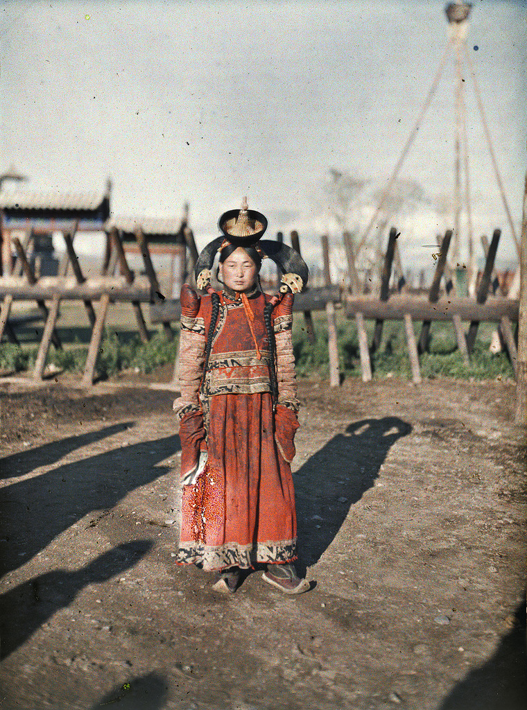 12 Глубокий феодализм в цвете: Российский протекторат Монголия в 1913