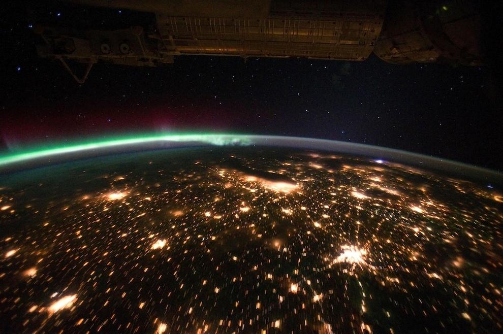 1214 Удивительные фото северного сияния