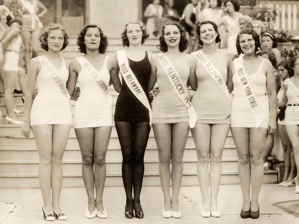 12161 Конкурсы красоты в Америке между двумя войнами   1924 1939 годы