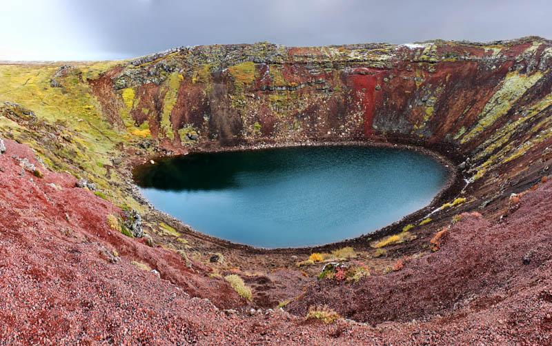 12164 15 кратерных озер