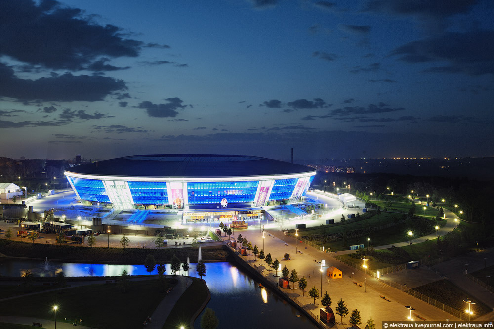 12187 Донецкий стадион Донбасс арена