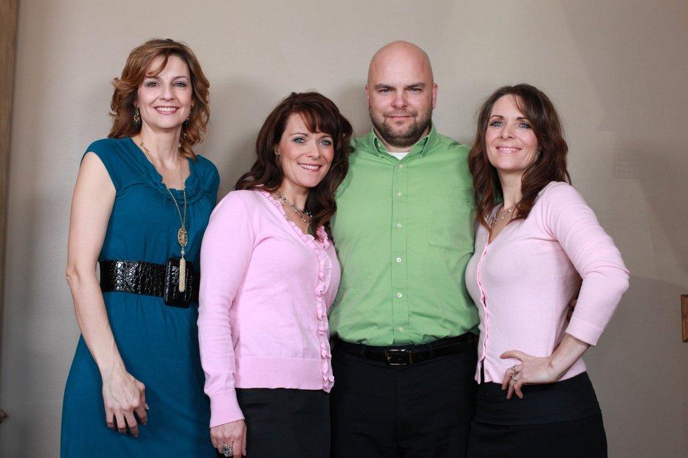 1266957  Семейный квартет мормонов из Солт Лейк Сити