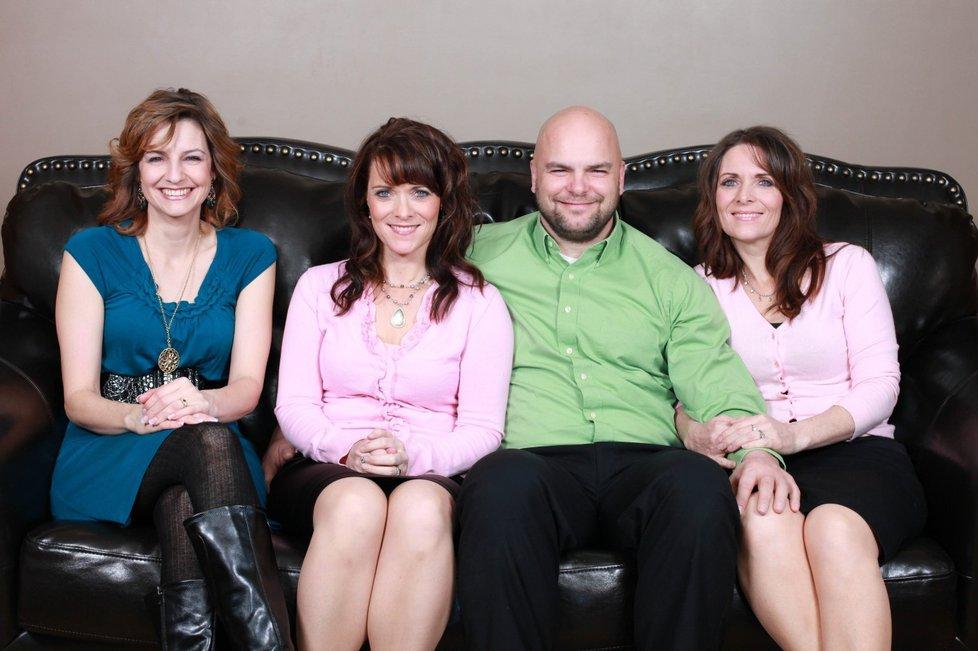 1266958  Семейный квартет мормонов из Солт Лейк Сити