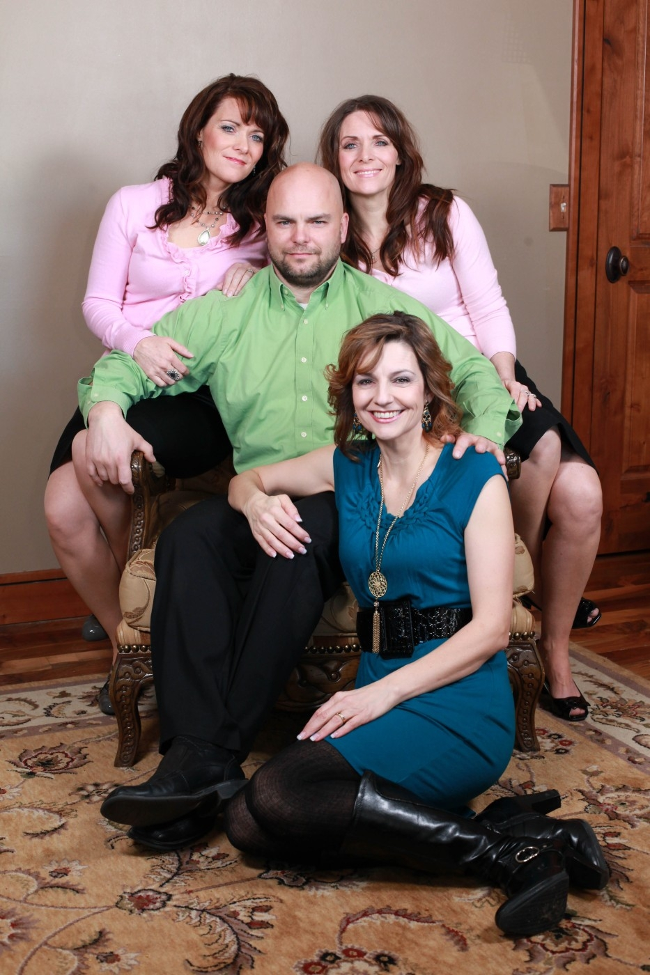 1266963  Семейный квартет мормонов из Солт Лейк Сити