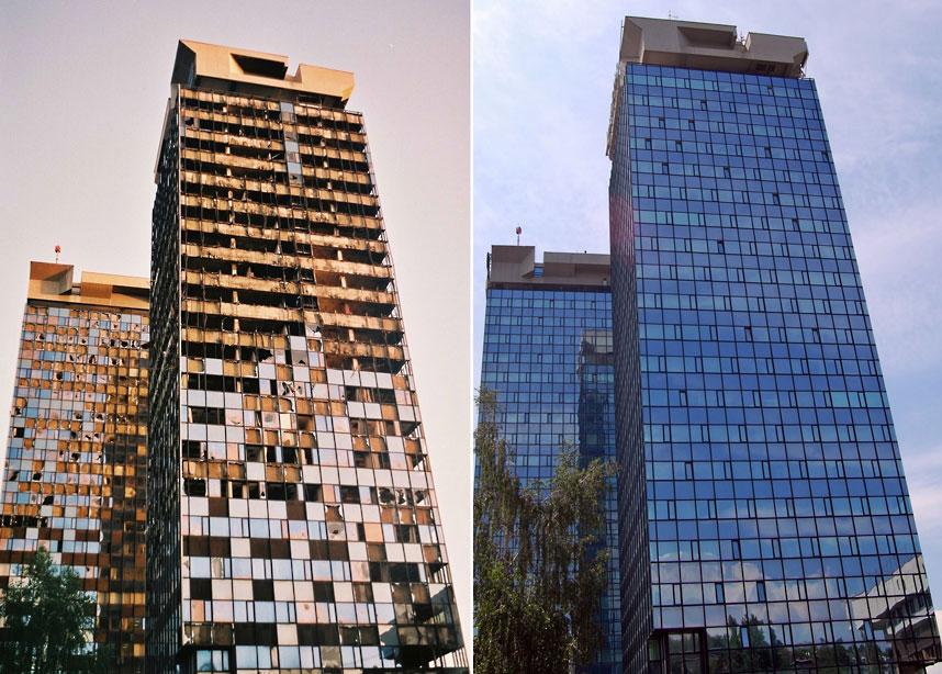 Сараево тогда и сейчас