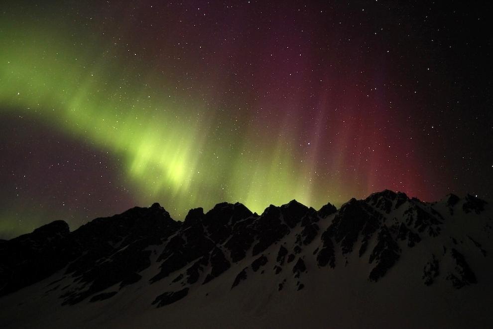 Удивительные фото северного сияния