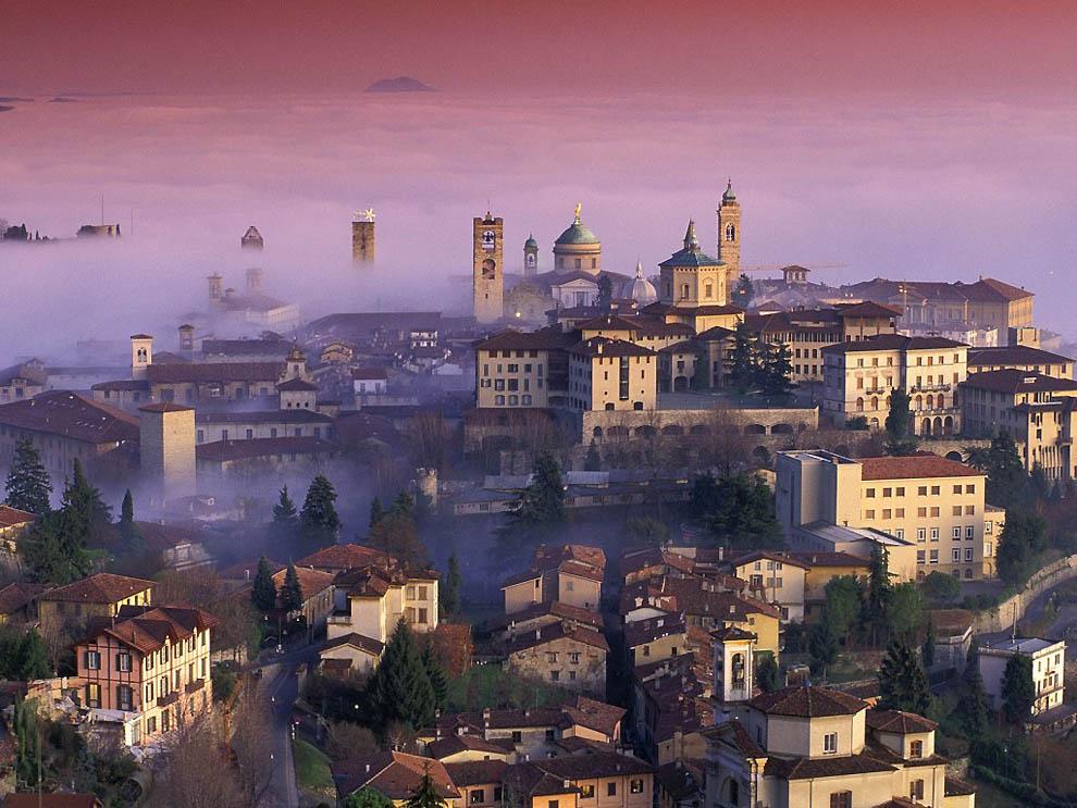 13124 Города окутанные туманом
