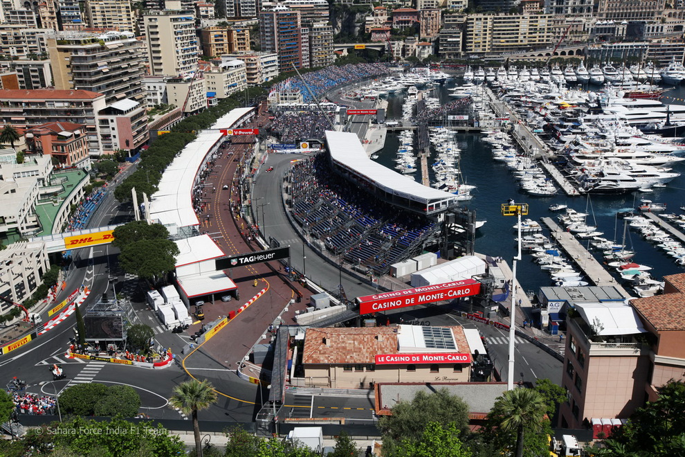 13148 За кадром 70 го Гран При Монако 2012: фоторепортаж
