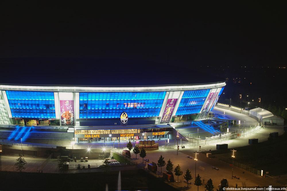 13160 Донецкий стадион Донбасс арена