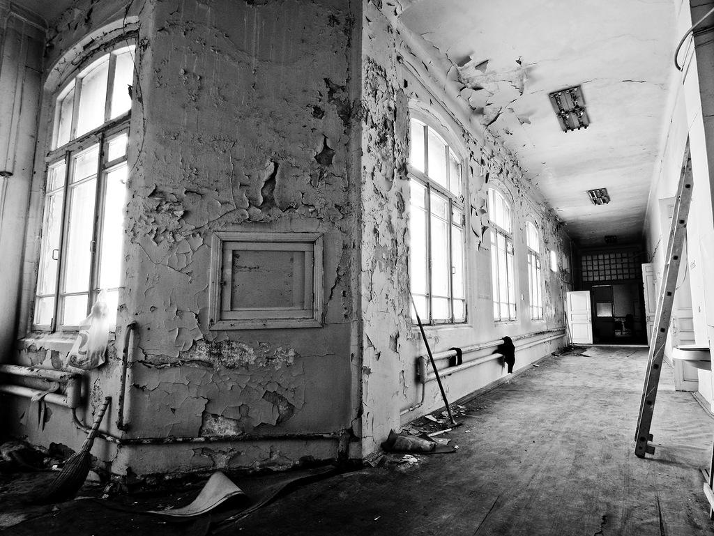1324 Заброшенный родильный дом